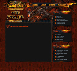 Cataclysm: Deathwing theme