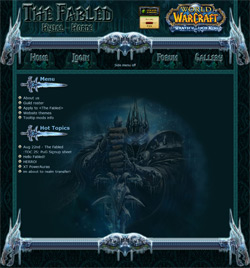 Wrath of the Lich King theme